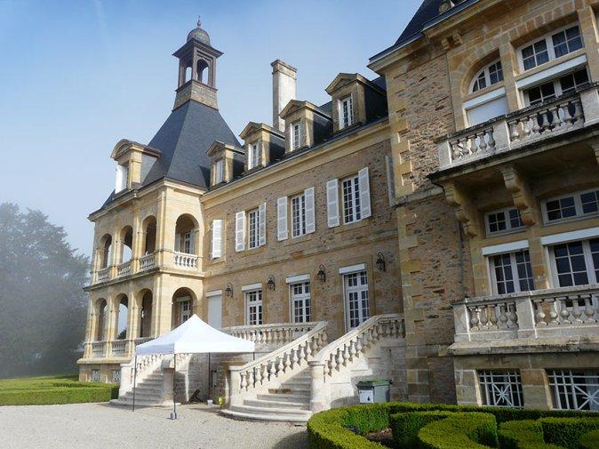 chateau-essendieras-XIX-facade-sud