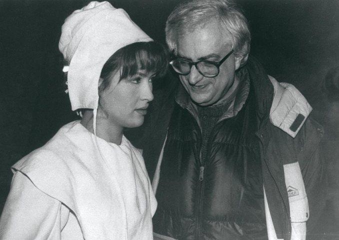 Sophie Marceau et Bertrand Tavernier, © Photo Lambert Wilson