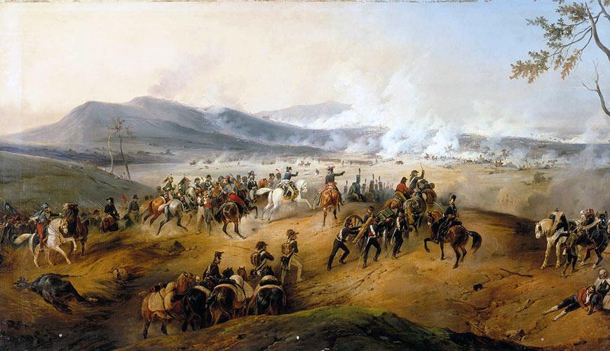 bataille-de-Castiglione-Victor-Adam-1836