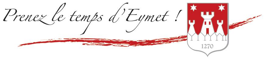 Signature «Prenez le temps d'Eymet»