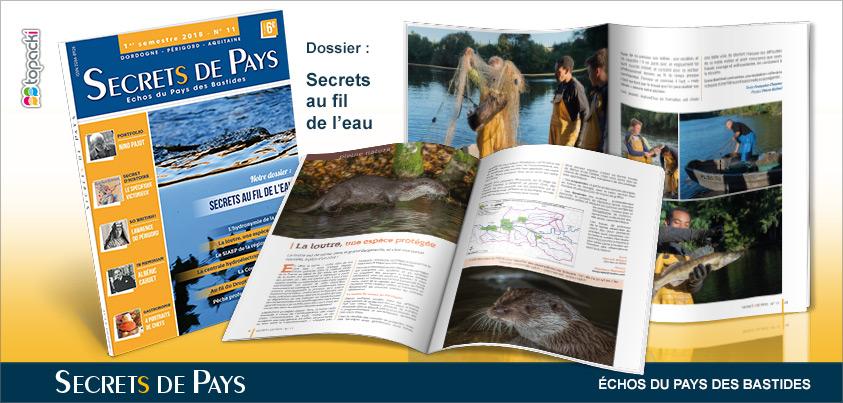 Le numéro 11 de «Secrets de Pays» et son dossier thématique «Places de Villages»…