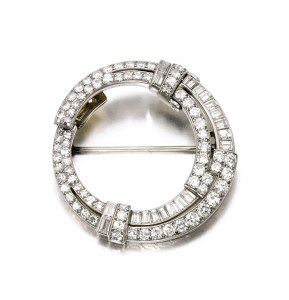 Broche VAN CLEEF ET ARPEL, Diamants, 1930 Crédit Sotheby's
