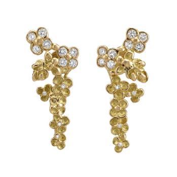 ANAÏS RHEYNER Boucles d'Oreilles Or et Diamants crédit MCM