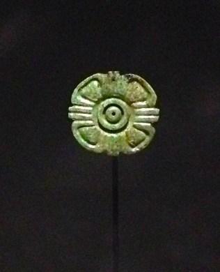 Fleur en jade 600-900 apr.J.-C.