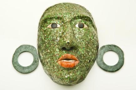 Masque funéraire de Calakmul Crédit Musée du Quai Branly