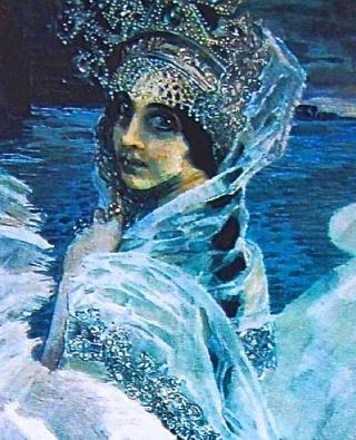 "Mikhaïl Vroubel ""la princesse Cygne"""