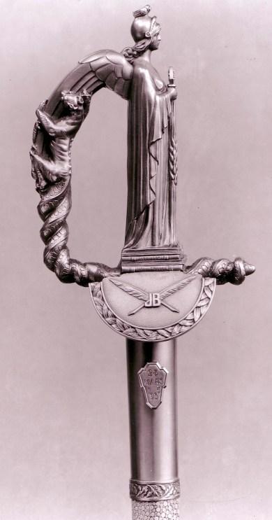 Épée de Monsieur Bainville 1936 © Mellerio