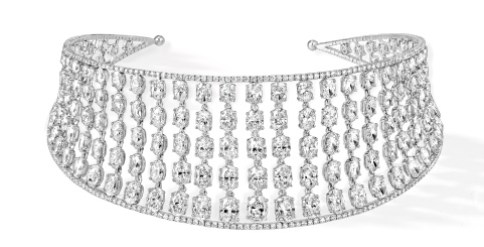 """© MESSIKA Collier """"Choker Taille Ovale Skinny"""""""