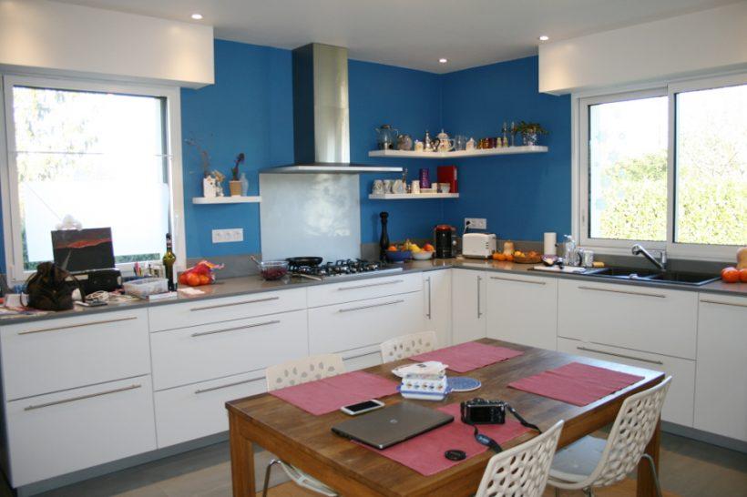 rénovation cuisne bleue