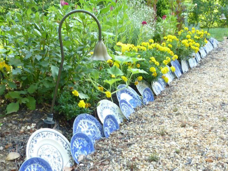 10 idées de bordure de jardin - Esprit Laïta