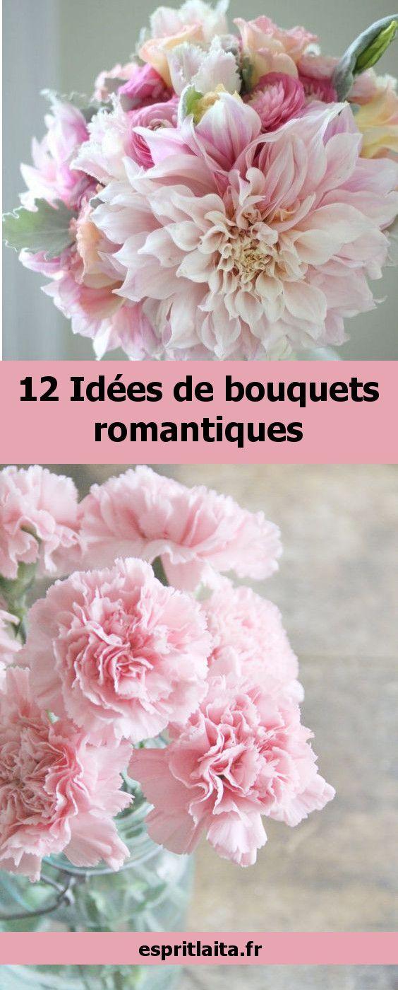 12 idées de bouquets romanatiques