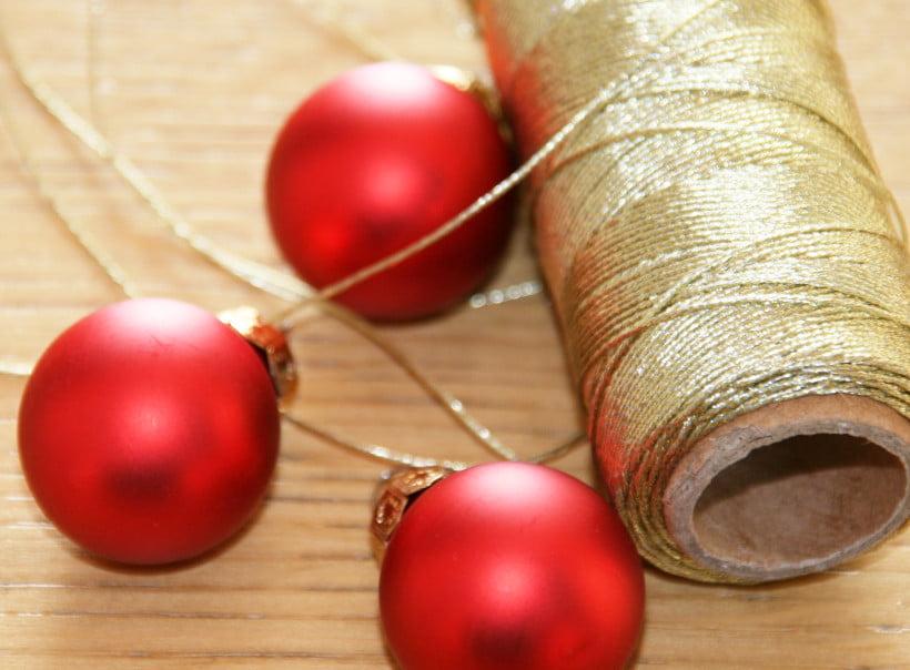 Matériel de décoration pour fabrication d'une étoile lumineuse de Noël - décoration de Noël