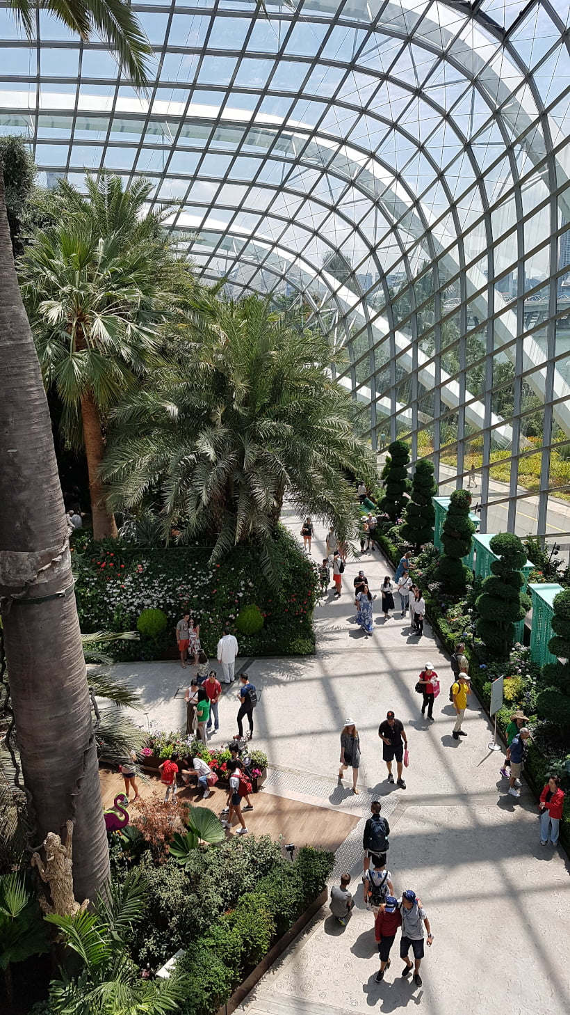 Flower Dome succulent garden Singapore