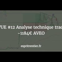 REVUE #12 Analyse technique trading -1184€ AVEO 8