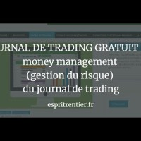 JOURNAL DE TRADING GRATUIT #2  money management (gestion du risque) du journal de trading 8