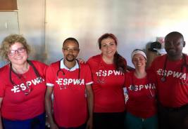 The Espwa team - Haitian and American
