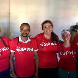 The Espwa team - Haitian and American