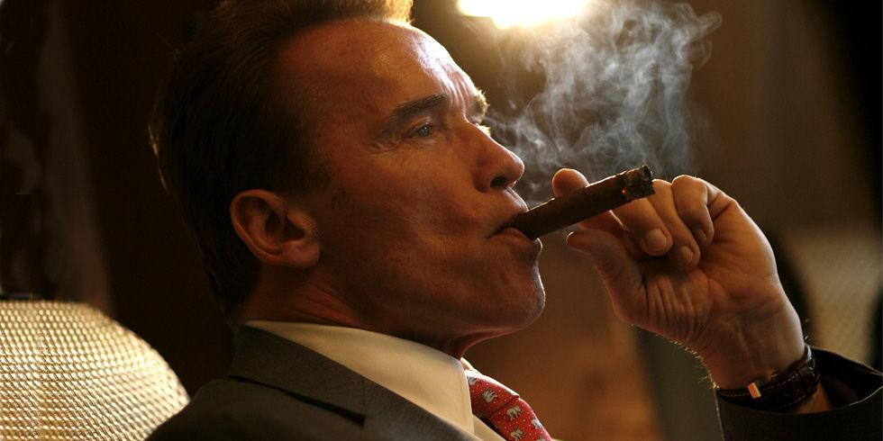 How to Smoke a Cigar According to Arnold Schwarzenegger