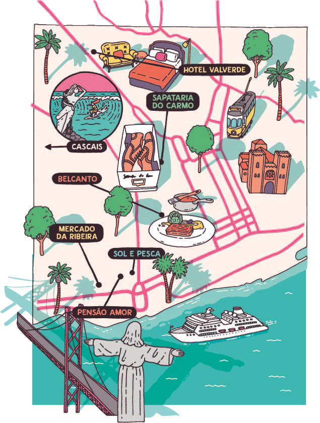 Lisbon city guide by Esquire Magazine