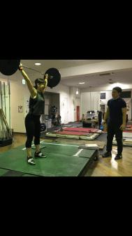 ウエイトリフティング 横浜 パーソナルトレーニング