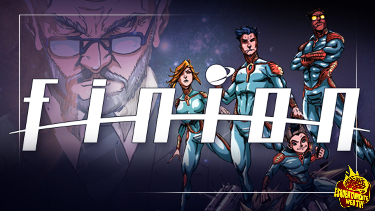 FINION, HQ de ficção científica no Catarse