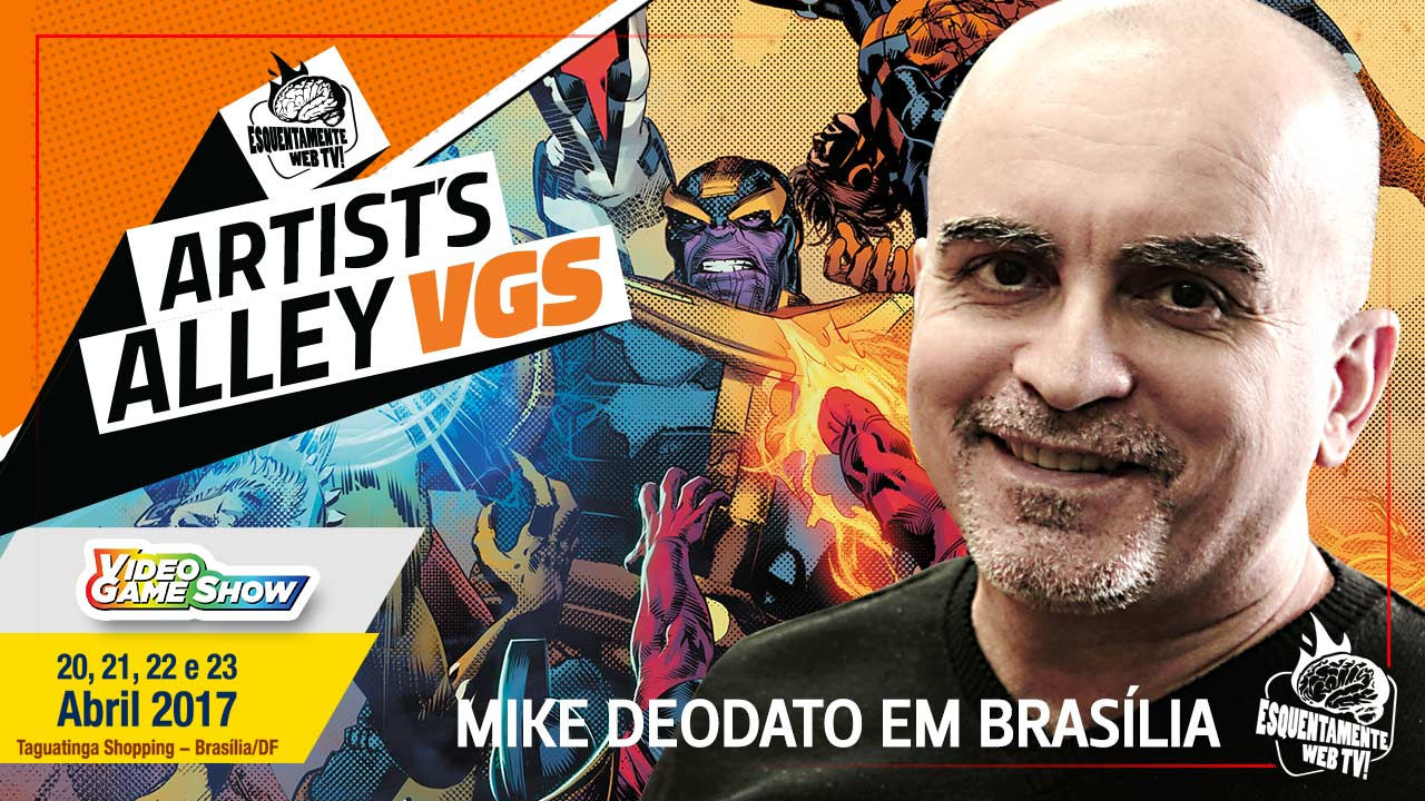 Mike Deodato em Brasília