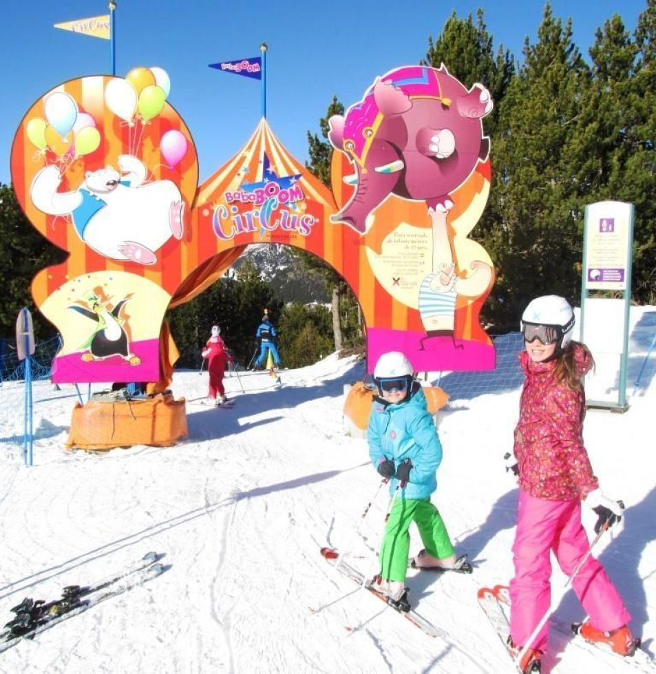 Pistas para Niños - Bababoom Circus