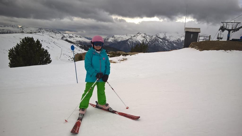 Aramón Cerler Esquia Con Peques