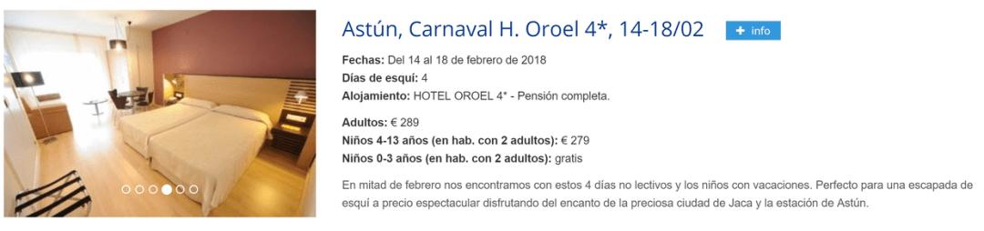 Club Amistad Esquí - Carnaval