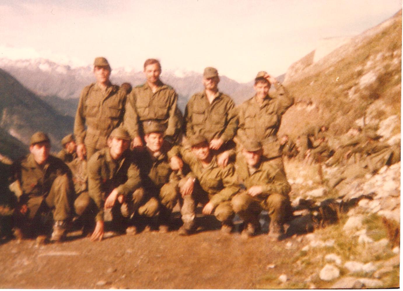 Patrulla cabo 1º Ugarte - Supervivencia Montgarri - Sep/84