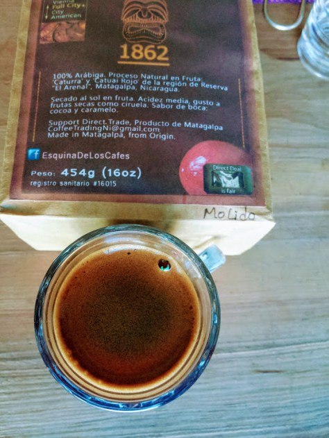 Extraction Method: Natural Brewing. Café de Matagalpa. Creamy and foamy. Hand Selected and dried in Fruit.