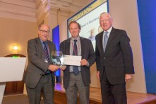 Professor Colin Mason, Professor Richard Harrison and Dr Alan Gillespie (ESRC Chair)