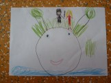 Oliver Pötzsch Lesung - Arbeiten der Kinder in den Klassen 6