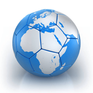 Map soccer ball
