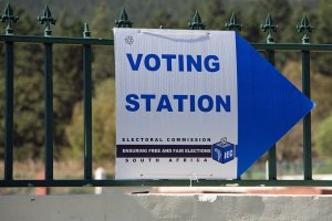 Voting Station South Africa