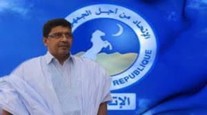الرئيس سيدي محمد ولد محم / رئيس الحزب الحاكم في موريتانيا