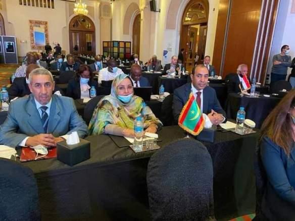 الحضور الموريتاني في الاتحاد الإفريقي للدراجات- المصدر (فيسبوك)