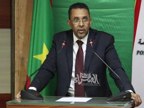 الوزير المنتدب لدى وزير الاقتصاد احبيب ولد حام