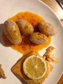 En accompagnement d'un petit saumon au four: miam!