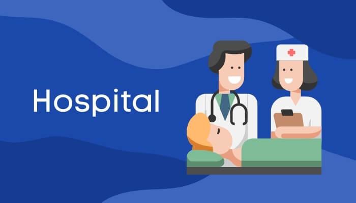 अस्पताल में एक घंटा पर हिंदी में निबंध Hospital Essay in Hindi