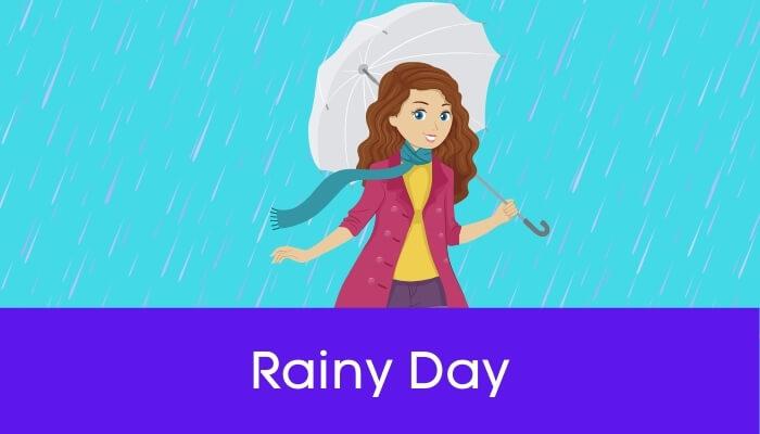 बरसात का पहला दिन पर निबंध First day of Rain Essay in Hindi