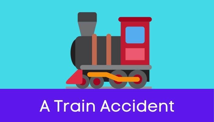 एक रेल-दुर्घटना पर निबंध Train Accident Essay in Hindi