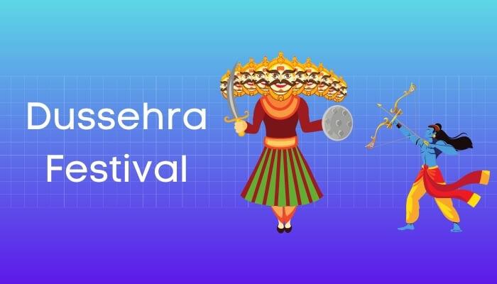 दशहरे का त्योहार हिंदी निबंध - Dussehra Festival Essay in Hindi