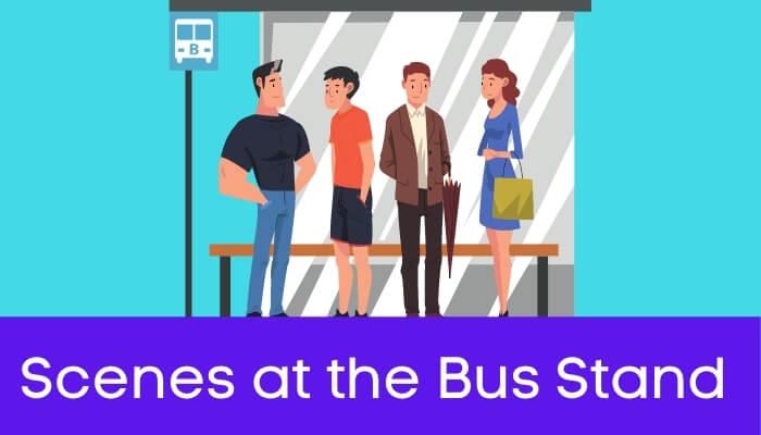 एस. टी. स्टैंड का दृश्य हिंदी निबंध - Scenes at the Bus Stand Essay in Hindi