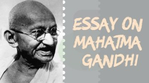 ESSAY ON MAHATMA GANDHI IN ENGLISH 100,500 AND 1000+ WORDS