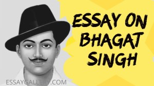 ESSAY ON BHAGAT SINGH IN ENGLISH 200,500 AND 1000 + WORDS