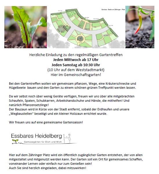Einladung blog Gartentreffen