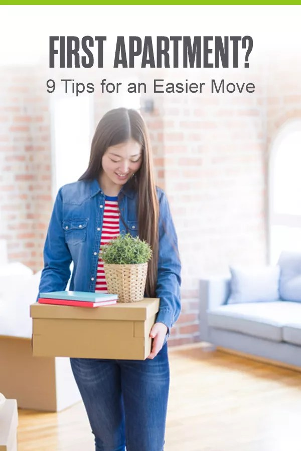 Getting your first apartment soon? From determining your monthly budget to finding the right location for your new home, these nine first apartment tips will help you get moved in and settled! via @extraspace