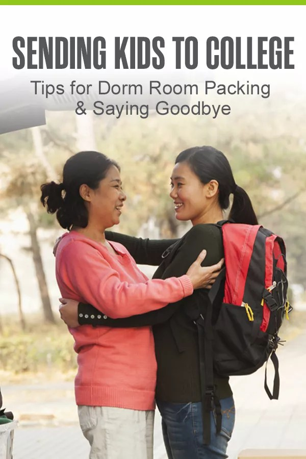 You're sending your child off to college. It's incredible and terrifying all at once. Learn how to navigate this emotional life transition with helpful dorm room packing tips and empty nest advice in this freshman move-in guide for parents! via @extraspace