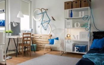 Small studio apartment space